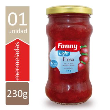 FANNY MERM FRESA LIGHT 230 GR