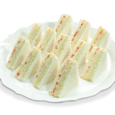 Triple mini sandwichs