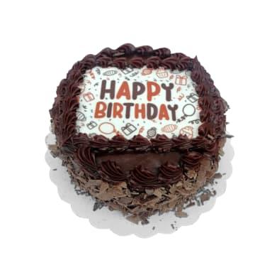 Mini Torta Happy Birthday chocolate