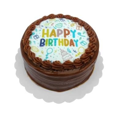 Mini Torta Happy Birthday Manjar