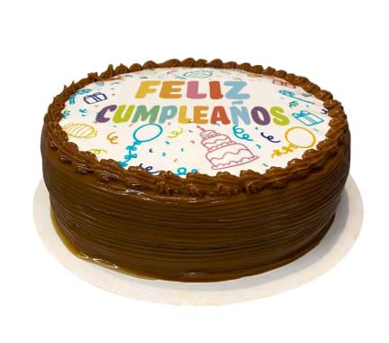 Torta Feliz Cumpleaños de Vainilla