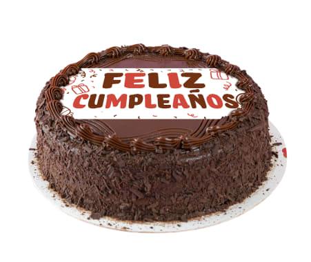 Torta Feliz Cumpleaños de Chocolate