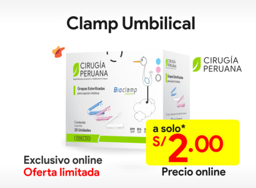 Clamp umbilical