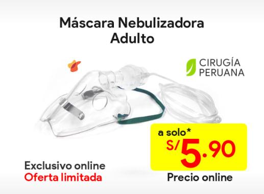 Máscara nebulizadora adultos