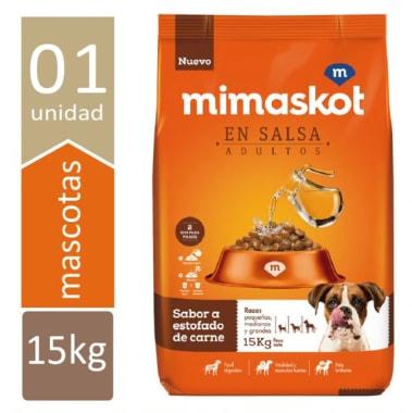 MIMASKOT EN SALSA CARNE 15Kg. + ENVIO GRATIS