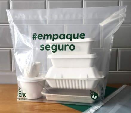 BOLSA HERMÉTICA DE SEGURIDAD - DELIVERY