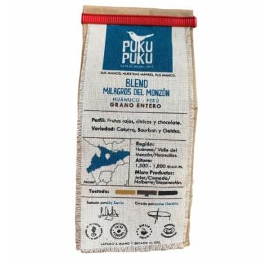 PUKU PUKU CAFÉ MILAGROS DEL MONZON GRANO