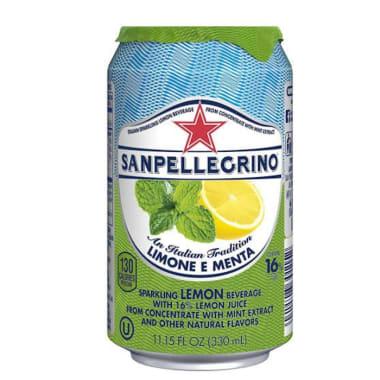 San Pellegrino Limón y Menta x 330 ml