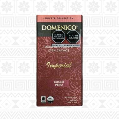 CHOCOLATE DARK 70% CACAO IMPERIAL 60G DOMENICO PRIVATE COLLECTION