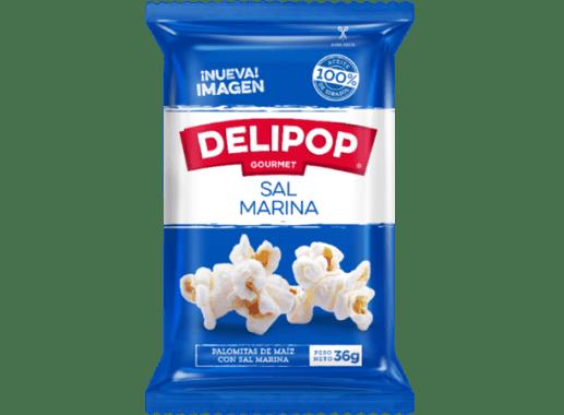 Crispetas Delipop  de Sal Marina x 36 gr