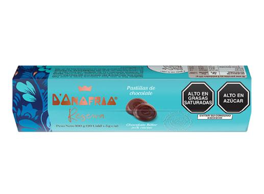 Pastillas de chocolate 70% cacao - D´Onofrio Reserva