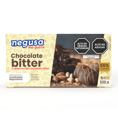 CHOCOLATE BITTER 55% CACAO 500 G
