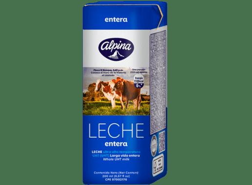 Leche Entera Caja 200ml