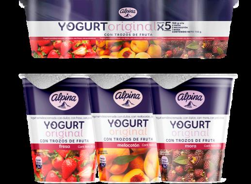 Pack Yogurt 150gr X 5 Unds