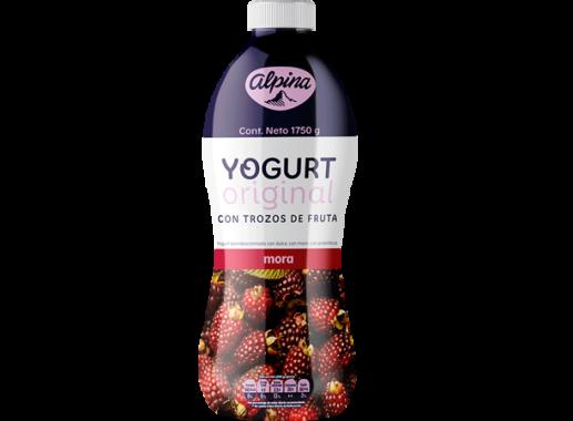 Yogurt  Original Mora Garrafa 1,750gr