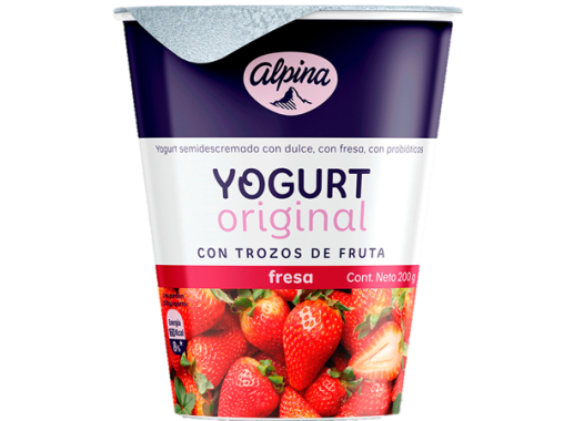 Yogurt Original Fresa Vaso 200gr