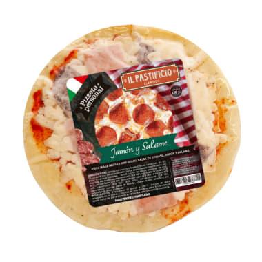 Pizzeta de Jamón y Salame
