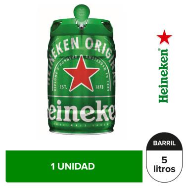 Cerveza Heineken Barril de 5L
