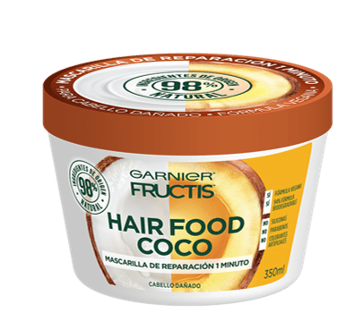 Mascarilla Reparadora Hair Food de Coco Fructis