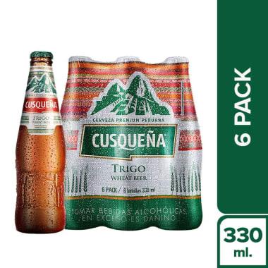 CUSQUEÑA TRIGO BOTELLA 330ML ( SIX PACK)