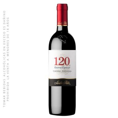 Vino 120 Reserva Especial Cabernet Sauvignon 750 ml