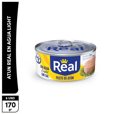 Promo Filete de Atún Real Light sin sal