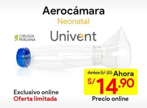 Aerocámara Neonatal