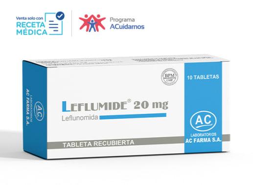 LEFLUMIDE 20 mg - LEFLUNOMIDA (Caja x 10 Tabletas)