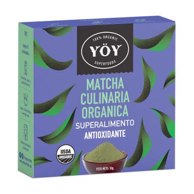 SUPERALIMENTO MATCHA CULINARIA 50 g YOY