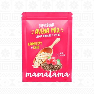 AVENA MIX CRANBERRY CHIA 500 g MAMALAMA