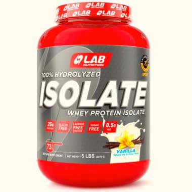 LAB NUTRITION ISOLATE VAINILLA X 5L