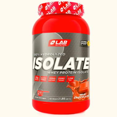 LAB NUTRITION PROTEIN ISOLATE CHOCOLATE 2LT