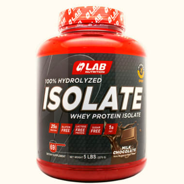 LAB NUTRITION ISOLATE CHOCOLATE 5LT