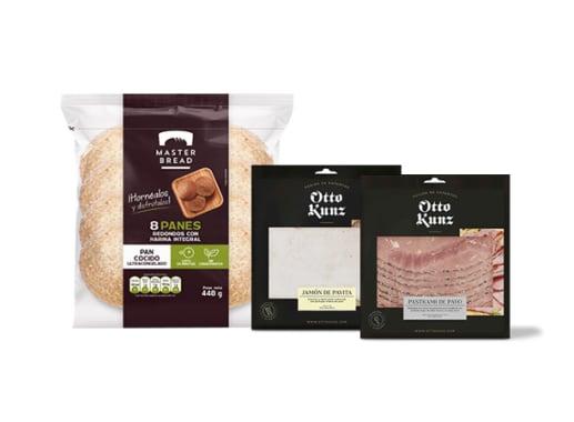 Pack Pavo Sandwich