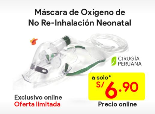 Máscaras de No Re-Inhalación Neonatal