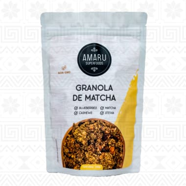 GRANOLA DE MATCHA 250 g AMARU