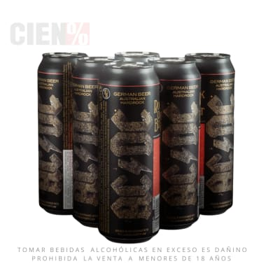 Six Pack Cerveza ACDC Lata 568 ml