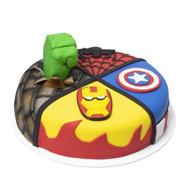 Torta Super Héroes (pedidos con 48h de anticipación)