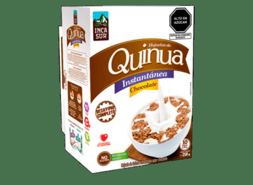 QUINUA INSTANTÁNEA EN HOJUELAS SABOR CHOCOLATE - SIN GLUTEN
