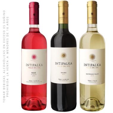 Pack Vino 03 Botellas Intipalka 750 ml