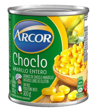 Choclo Amarillo entero 300g