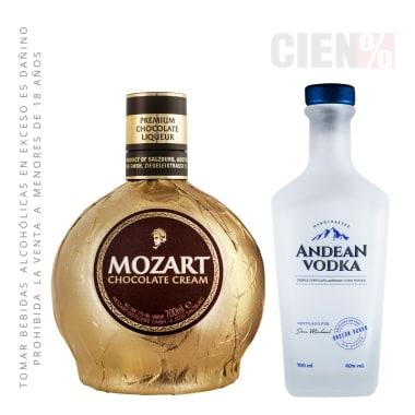 Andean Vodka + Mozart 700 ml