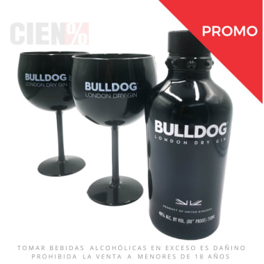 Gin Bulldog 750Ml + Copa