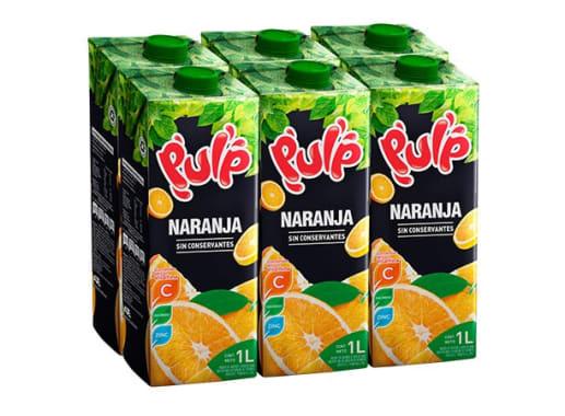 Pulp sabor Naranja 1L