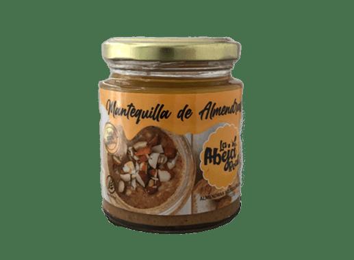 """MANTEQUILLA DE ALMENDRA - """"LA ABEJA REAL"""""""