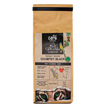 CAFE MOLIDO GOURMET BLACK 250G CHUNCHO