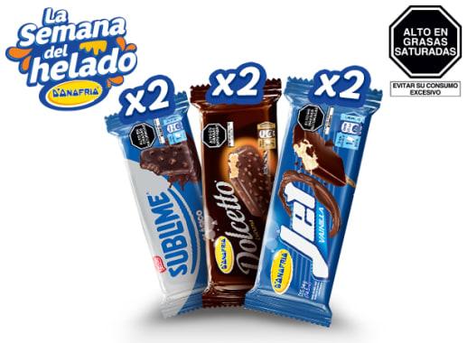 Combo Paletas Chocolatosas