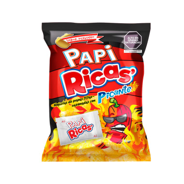 Papiricas Sabor Picante 180 gr