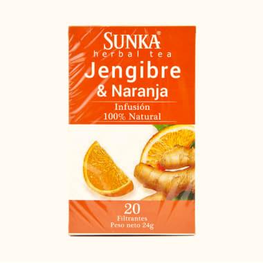 SUNKA JENGIBRE Y NARANJA 20 FILTRANTES