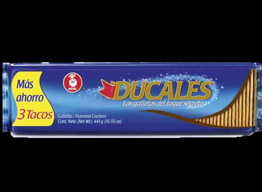 Galletas Ducales Tres Tacos 441 gr